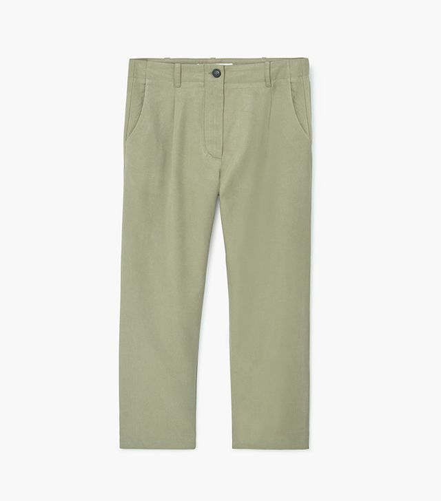 Mango Soft Fabric Trousers