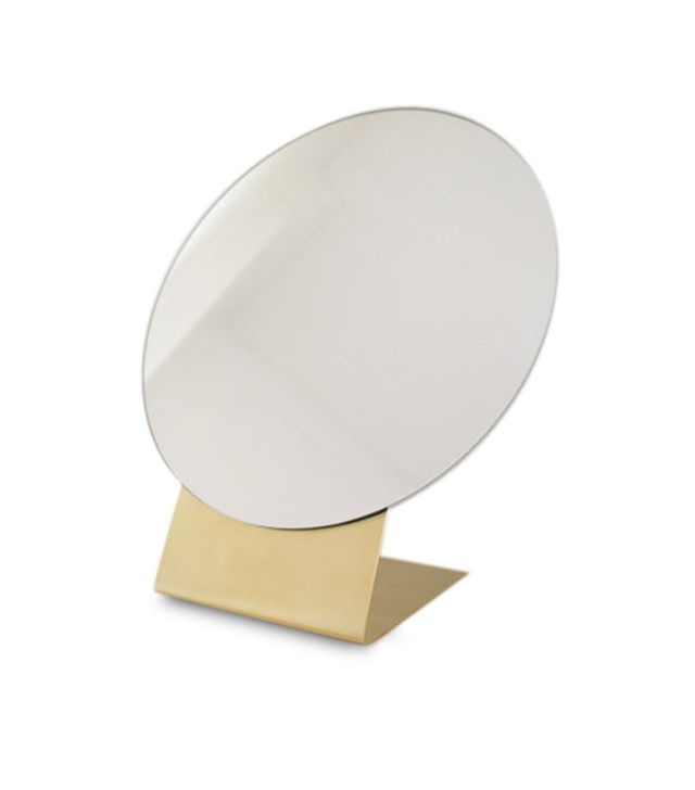 Calvill Brass Table Mirror