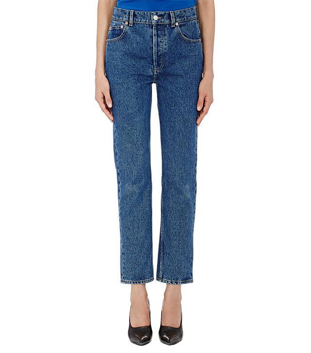 Balenciaga Straight Crop Jeans