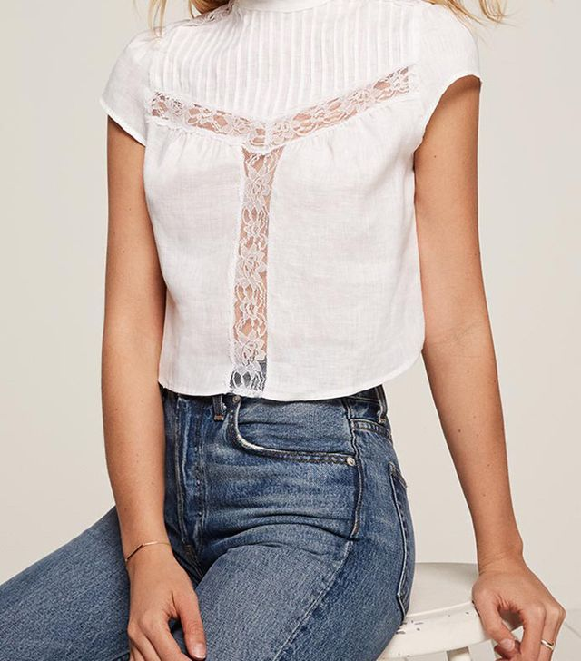 Reformation Angelita Top