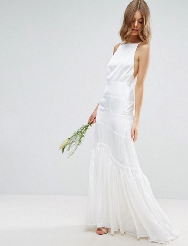 ASOS Bridal Bridal Cami Maxi Dress