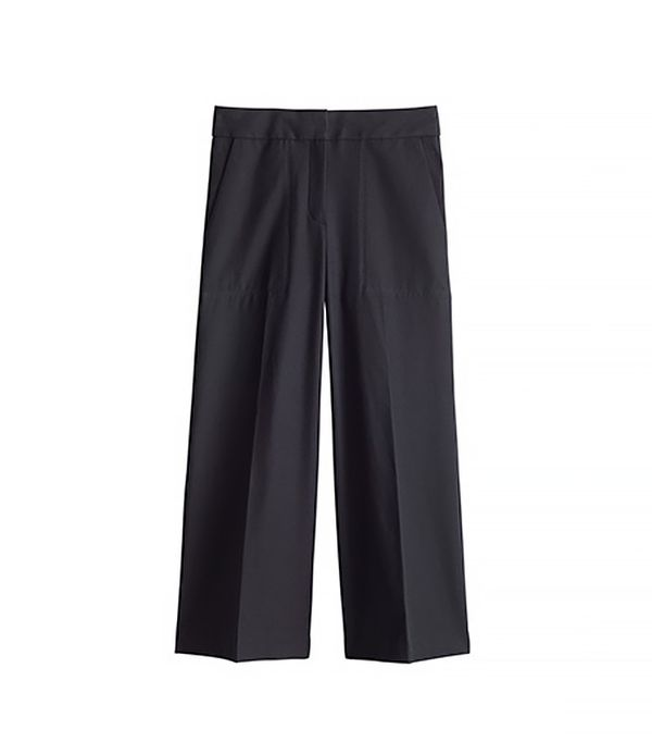 Ann Taylor The Wide Leg Pant in Knit Crepe
