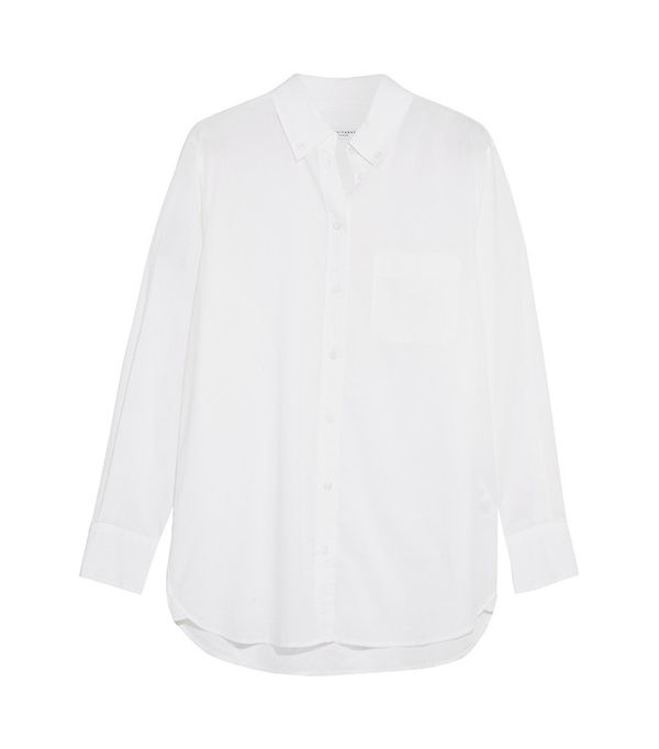 Equipment Margaux Cotton-Poplin Shirt