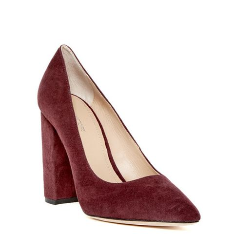 Celina Block Heel Pump