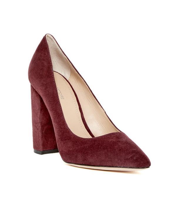 Pour La Victoire Celina Block Heel Pump