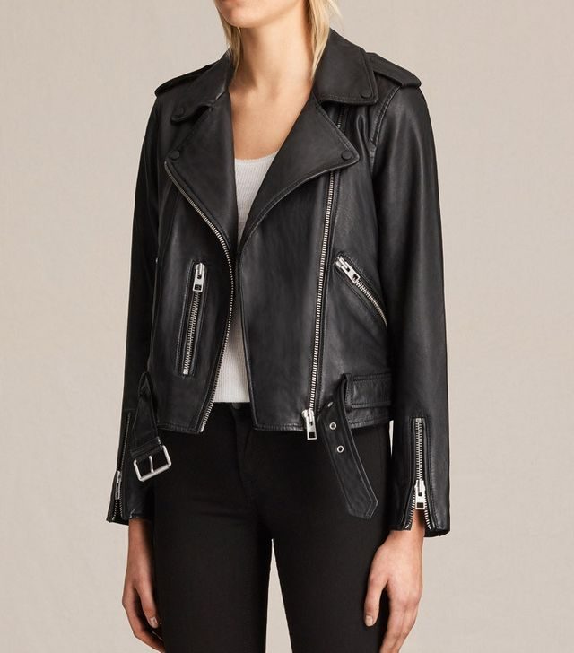 5 Things People Will Always Notice About Your Outfit: AllSaints  Balfern Biker Jacket