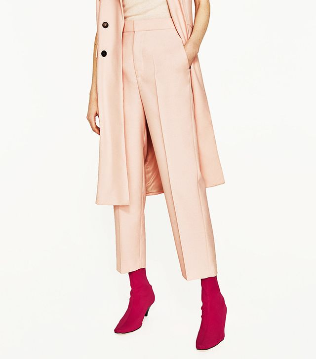 5 Things People Will Always Notice About Your Outfit: Zara Straight Cut Culottes