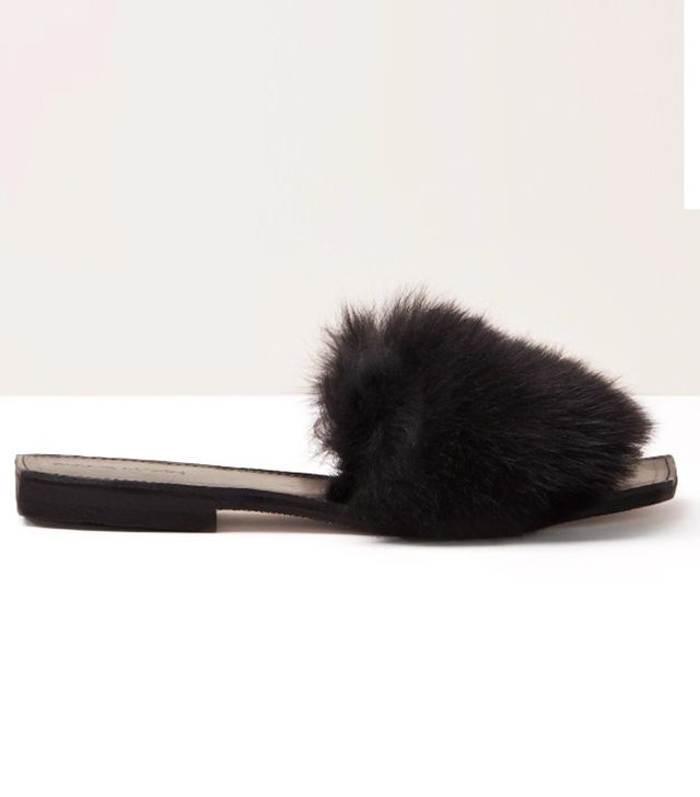 Parme Marin Parme Marin Furry Baby Slide
