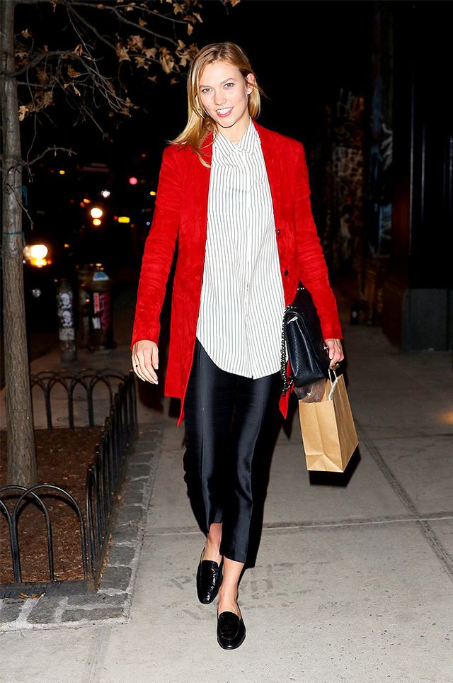 Karlie Kloss in mules