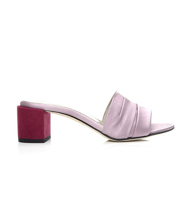 satin shoe trend dear frances mules