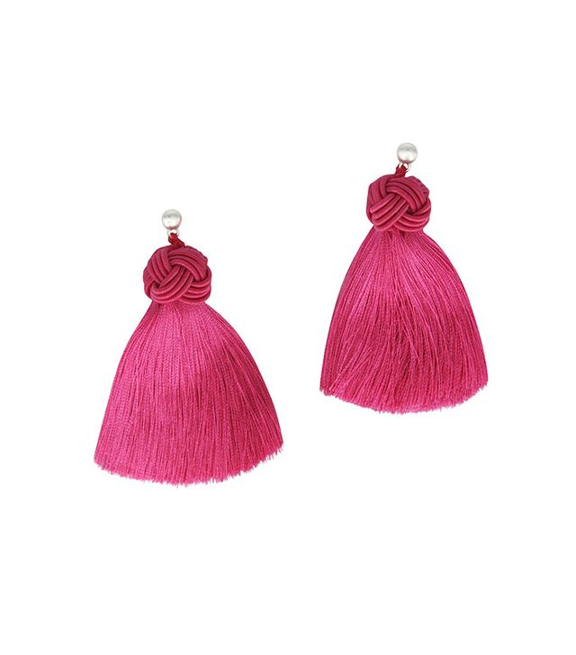 tassel statement earring trend