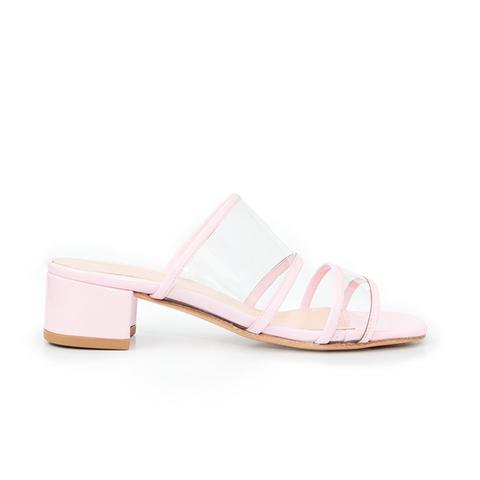 Martina Slide in Bubblegum Pink Patent