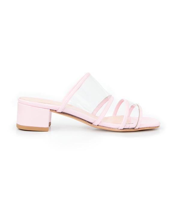 Maryam Nassir Zadeh Martina Slide - Bubblegum Pink Patent