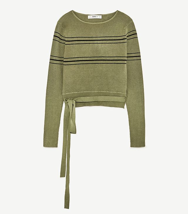 best army green sweater