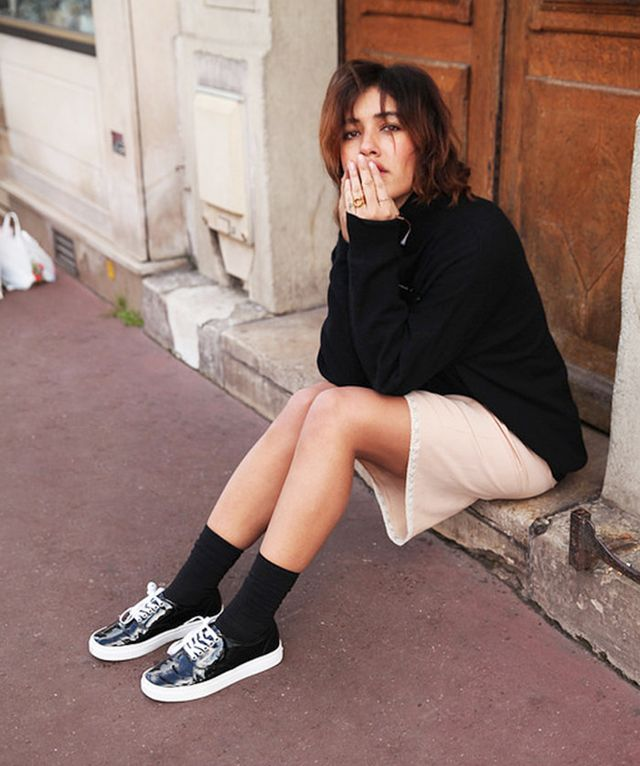 parisian style sneakers