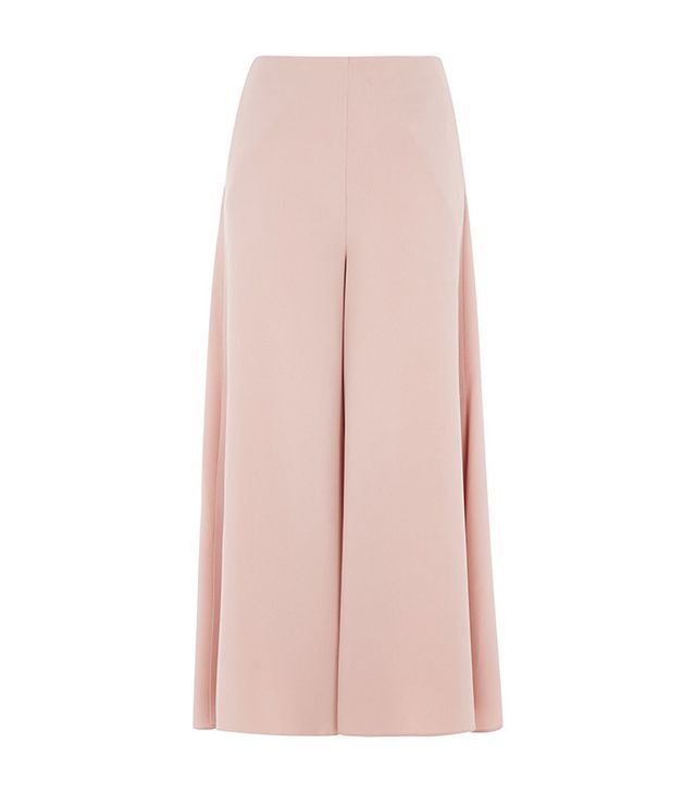 pink side-slit pants