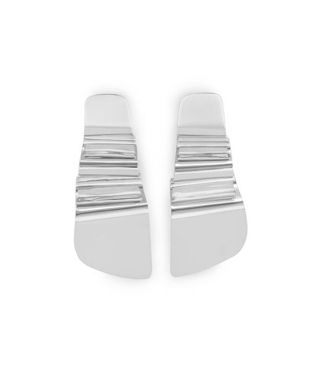statement earring trend silver