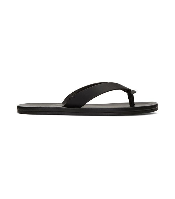 best leather flip-flops