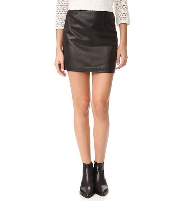 must-have leather skirt