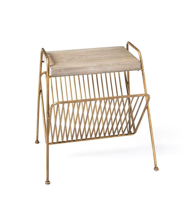 West Elm Kinsey Magazine Side Table