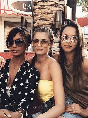 The VS Angels Celebrated Taylor Hill's 21st in Vegas—See the Photos