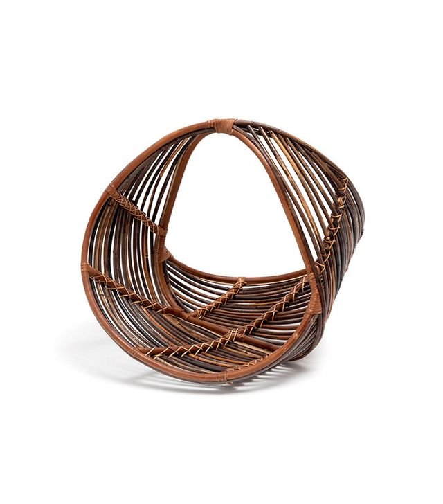 Zara Home Rattan Magazine Rack