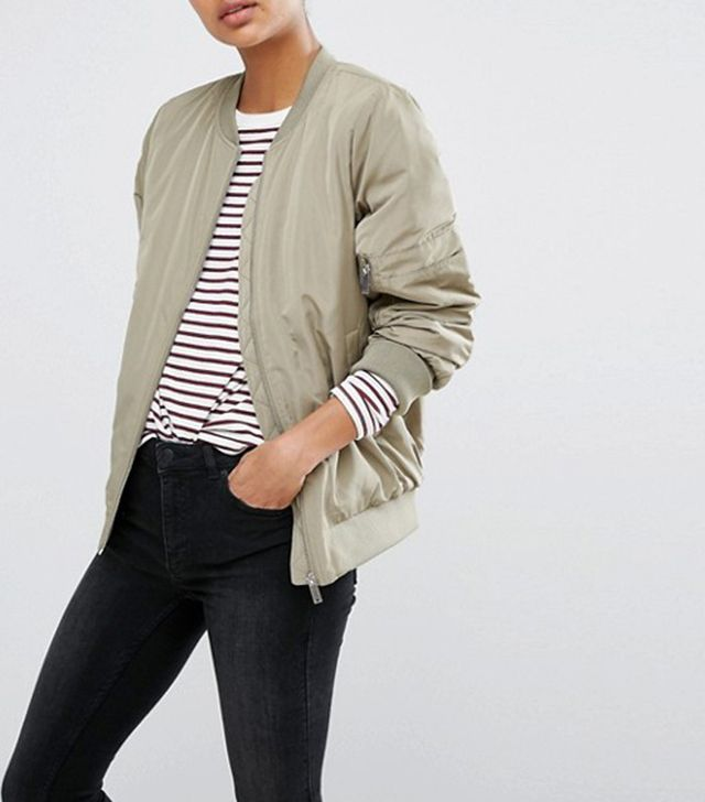 best green bomber jacket