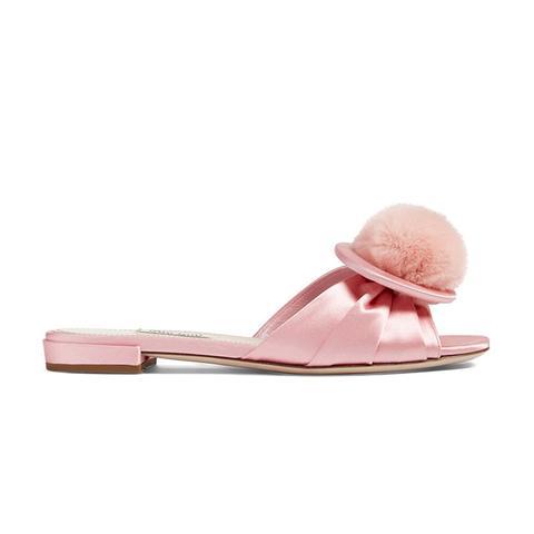 Fur Slide Sandal