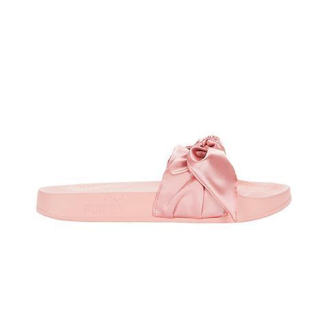 Satin Bandana Pool Slide Sandals