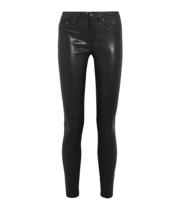 Rag & Bone leather trousers