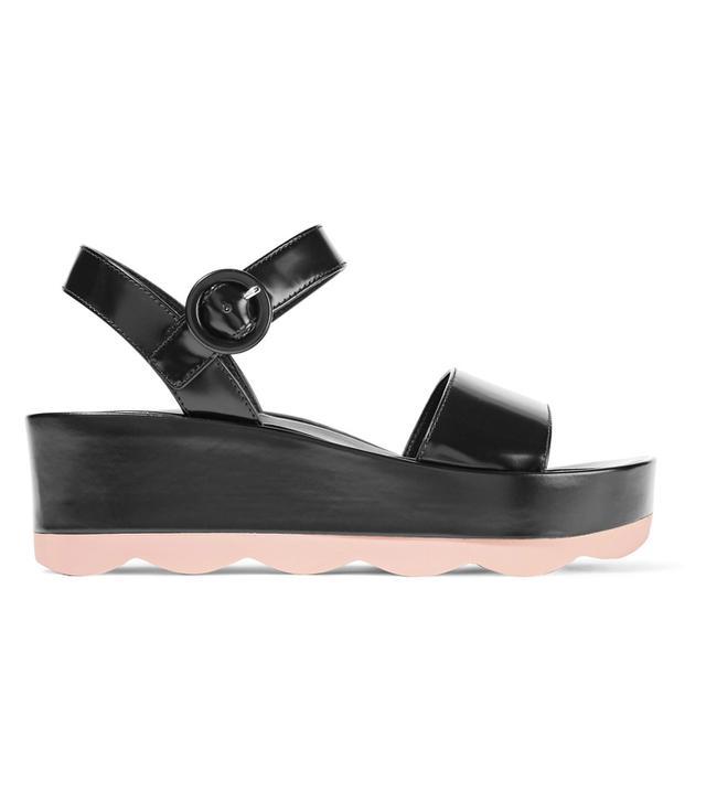 how to wear flatform sandals