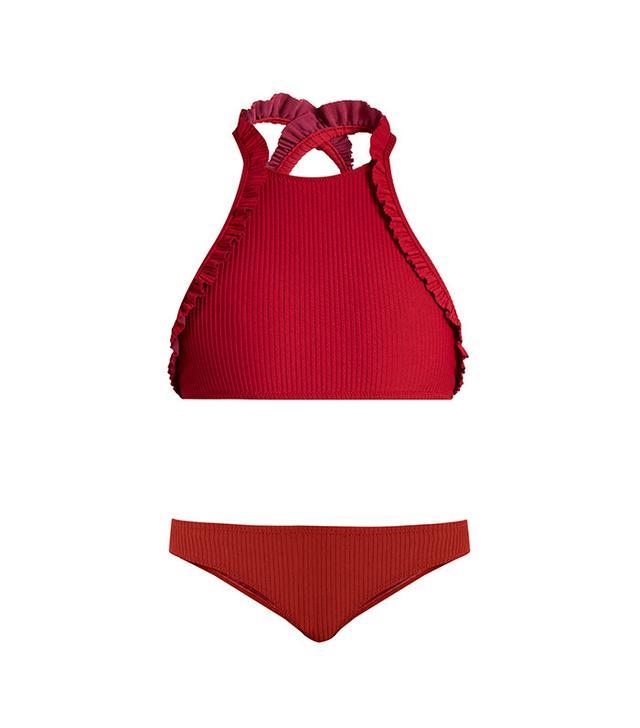 best feminine ruffle bikini