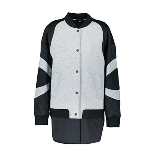 oversize bomber jacket