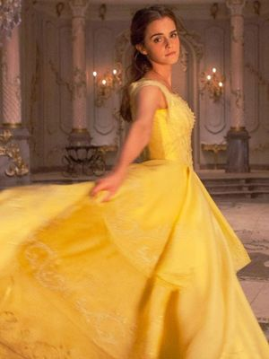 It's True: A 5-Year-Old Helped Design the Beauty and the Beast Dress