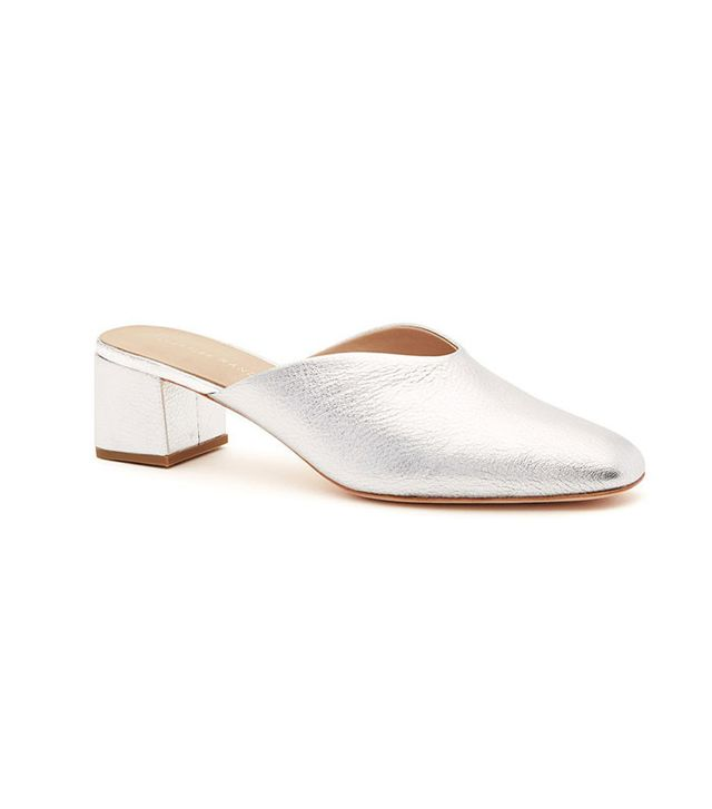 silver summer shoes