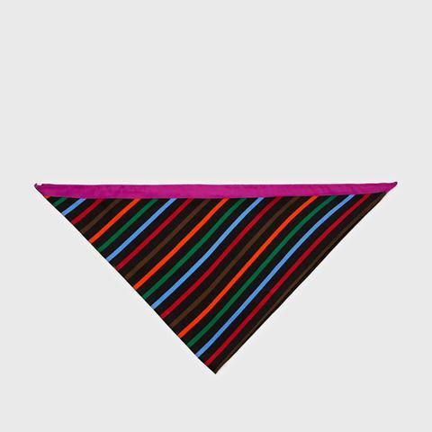 Small Striped Scarf