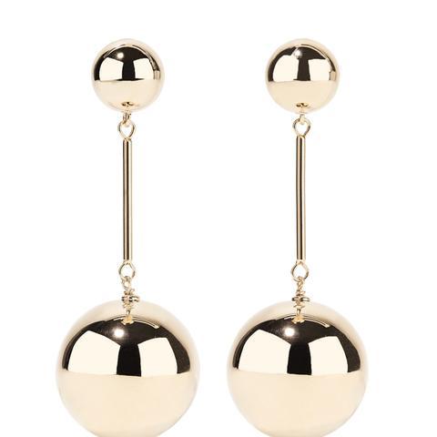 Rose Gold-Tone Earrings