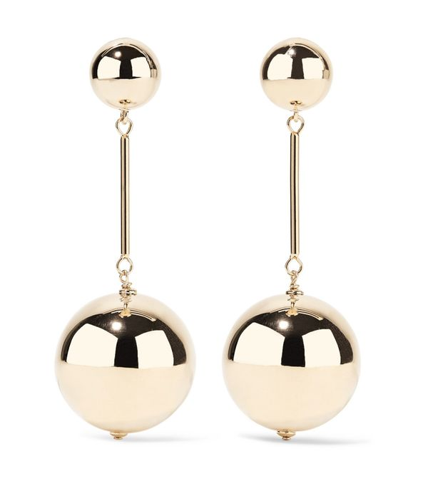 How to look chic: J.W.Anderson Rose Gold-Tone Earrings