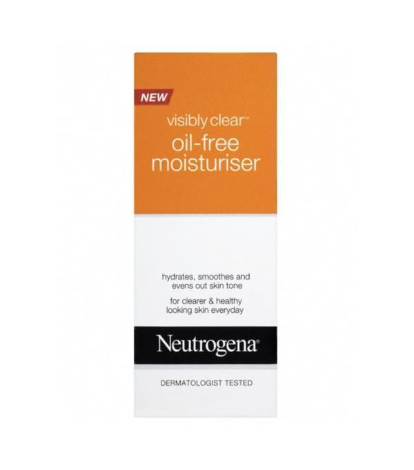 Best moisturiser: Neutrogena Visibly Clear Oil-Free Moisturiser
