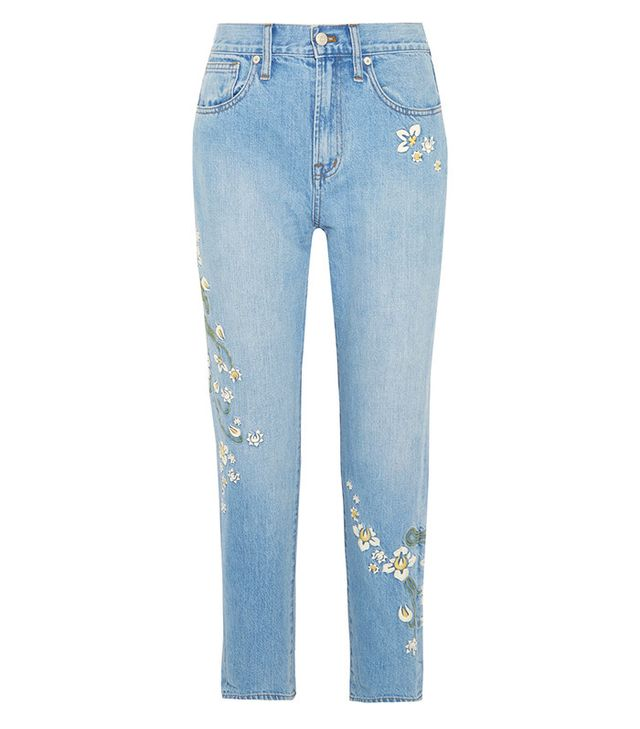 best embroidered jeans