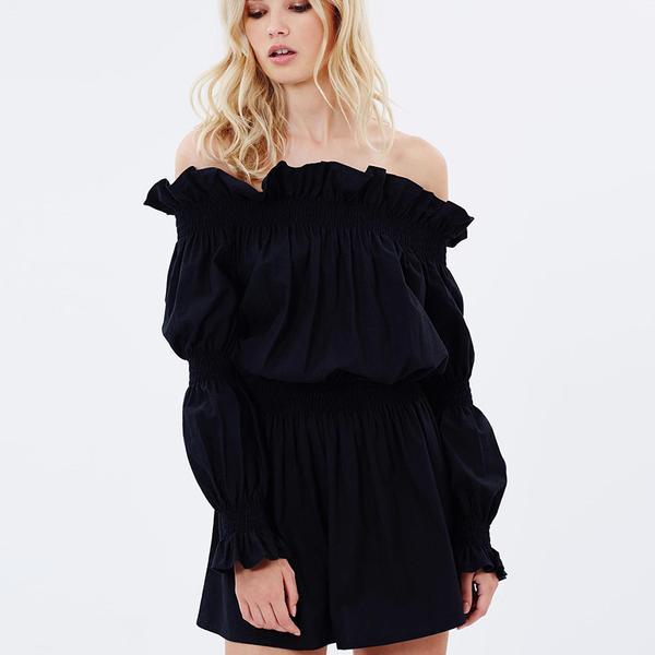 Caroline Constas Appolonia Off-the-Shoulder Mini Dress