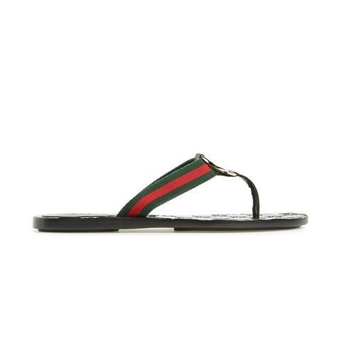 GG Logo Sandals