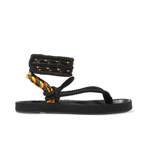 Epipa Rope and Leather Sandals