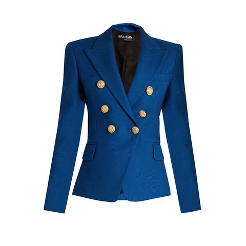 Jacket With Button Fastening