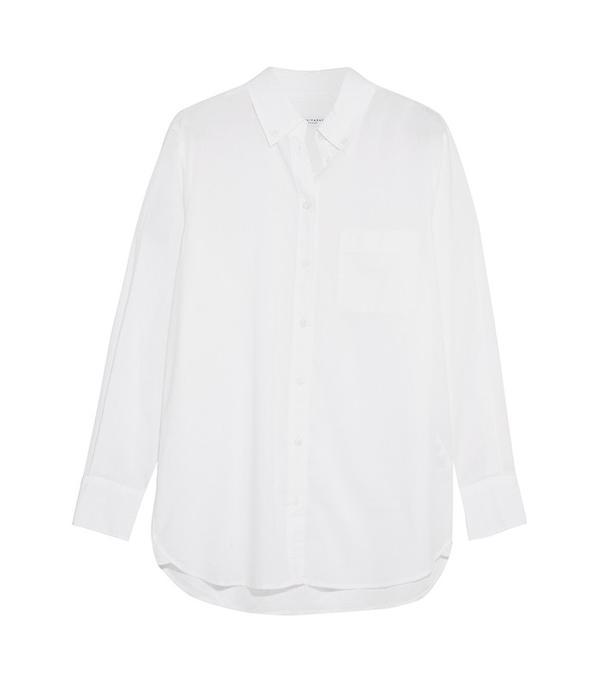 Equipment Margaux Cotton-Poplin Shirt