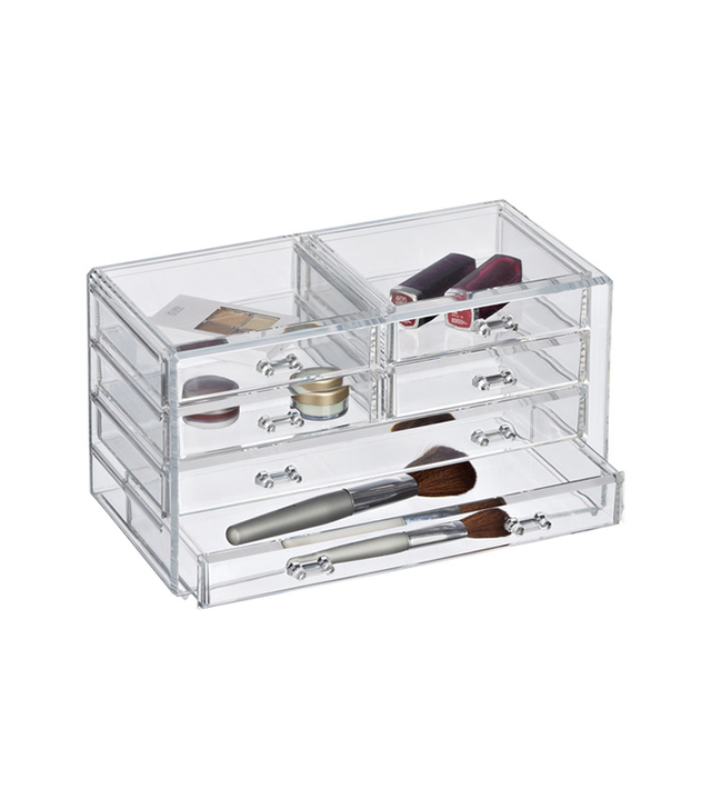 Clear Makeup Storage - How to be Less Anxious