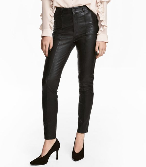 affordable leather pants