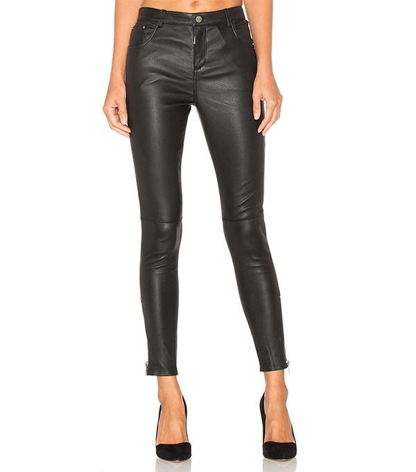 classic leather pants