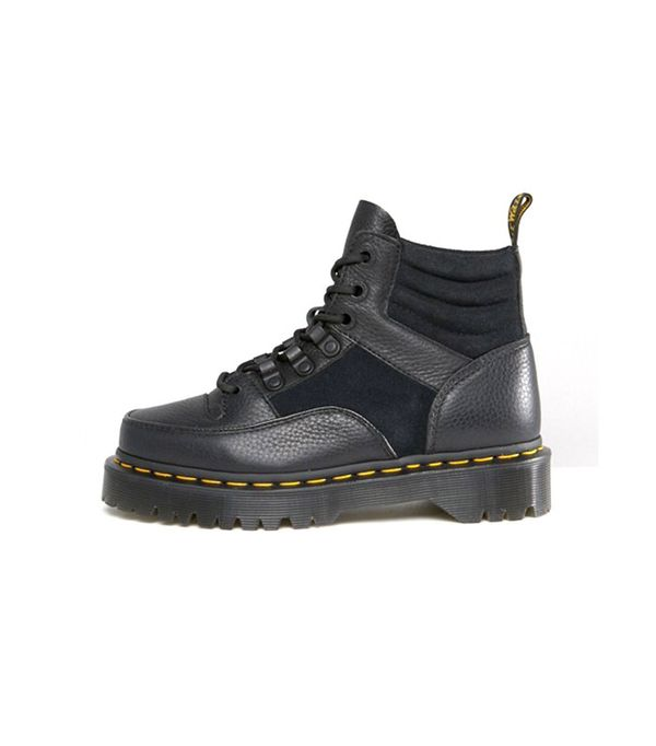 edgy hiking boots