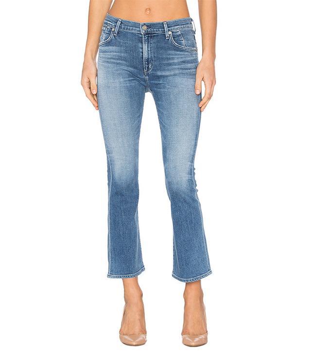 best blue kick-flare jeans